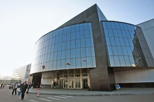 Крокус Экспо в Москве.