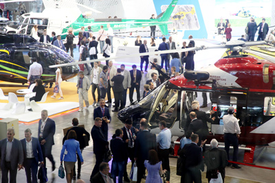 The main branch forum of the helicopter industry