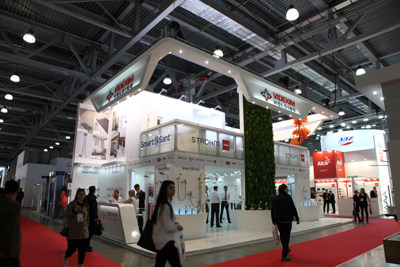 The must-attend building and interiors exhibition MosBuild 2019 in Russia.
