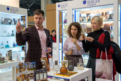 InDecor Moscow 2018 exhibition