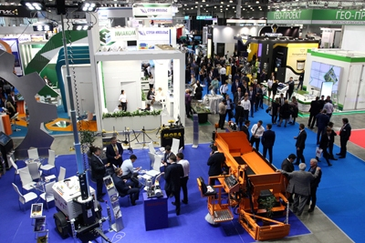 The latest achievements of the road industry in Crocus Expo