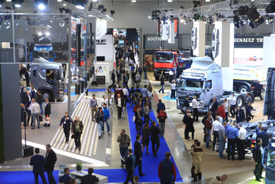 The largest show of commercial vehicles in Russia COMTRANS will take place in Crocus Expo
