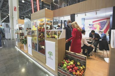 WorldFood Moscow 2020 is held in Crocus Expo