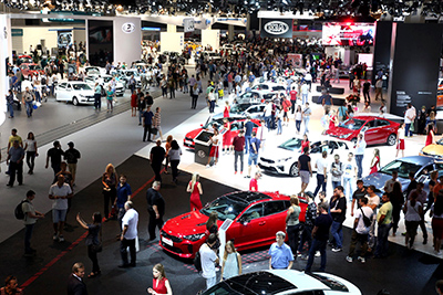 Moscow International Automobile Salon (MIAS) has been postponed to indefinite dates