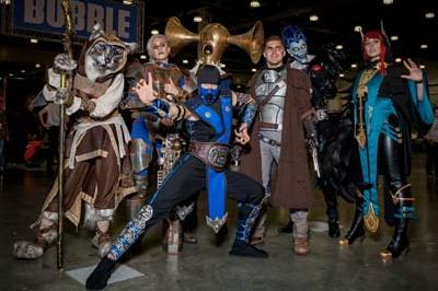 IgroMir Expo and Comic Con Russia in Crocus Expo