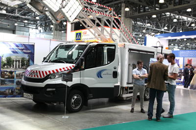 The 9th International exhibition and forum ROADEXPO began its work