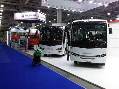 Busworld Russia powered by Autotrans will be accommodated in Crocus Expo October 23 through 25.