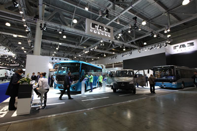 A new electrical minibus will be displayed by GAZ Group